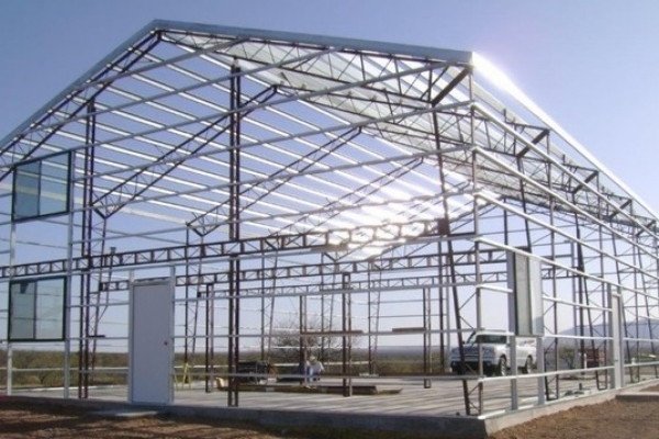 commercial steel buildings in Kansas